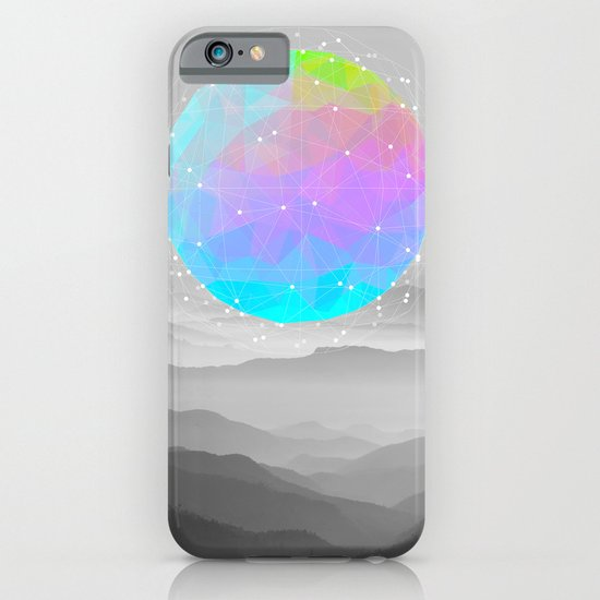 Worlds That Never Were (Geodesic Moon) iPhone & iPod Case