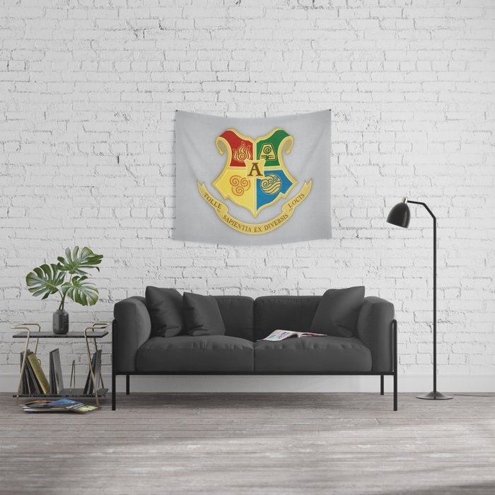 The Avatar School of Bending Wall Tapestry