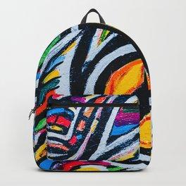 Graffiti Peace Backpack