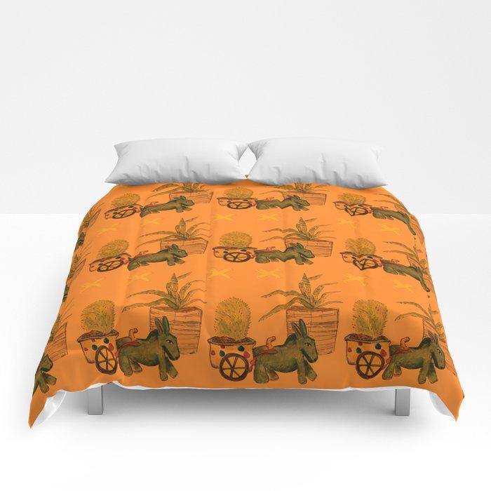 Garden Donkey Comforters