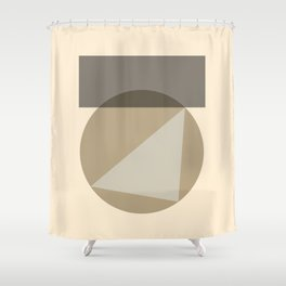 Geometric Connection 02 Shower Curtain
