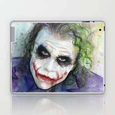 The Joker Watercolor Laptop & iPad Skin