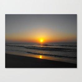 South Carolina Sunrise2 Canvas Print