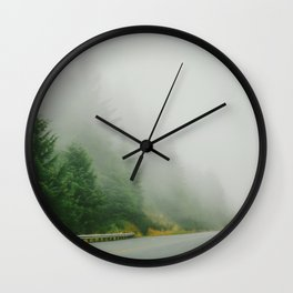 Rainy Portland Wall Clock