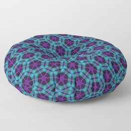 Neon Flux 05 Floor Pillow