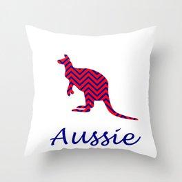 Aussie  Throw Pillow
