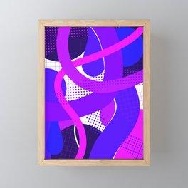 Abstraction III Framed Mini Art Print