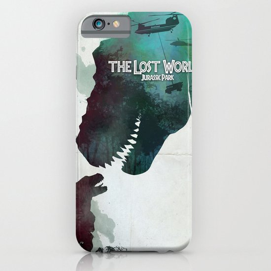 Inspired movie poster. The Lost World: Jurassic Park (1997) iPhone & iPod Case
