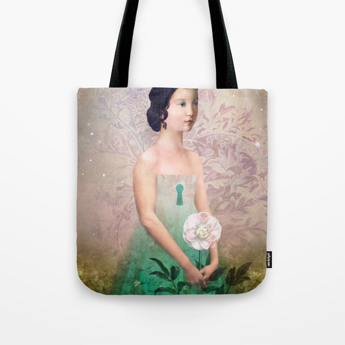 The Castle Garden Tote Bag