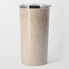 Real Wood Texture / Print Travel Mug