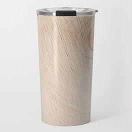 Real Wood Texture / Print Travel Mug