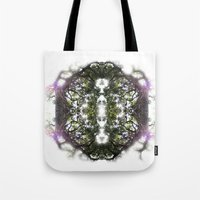 circle Tote Bags featuring Circle by Ben Geiger
