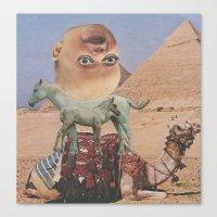 desert Canvas Prints featuring Desert by Jon Duci