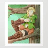 Linkle Art Print