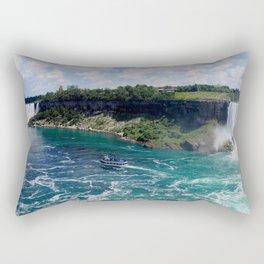 Niagra Falls 3 Rectangular Pillow