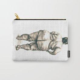 mujer en la ducha Carry-All Pouch