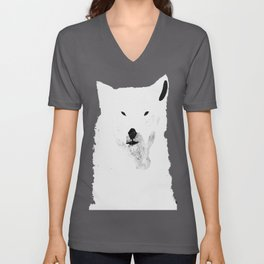 THE RUFFLED BEAR Unisex V-Neck