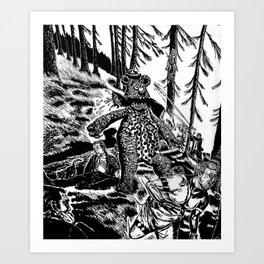 Bear Market Art Print