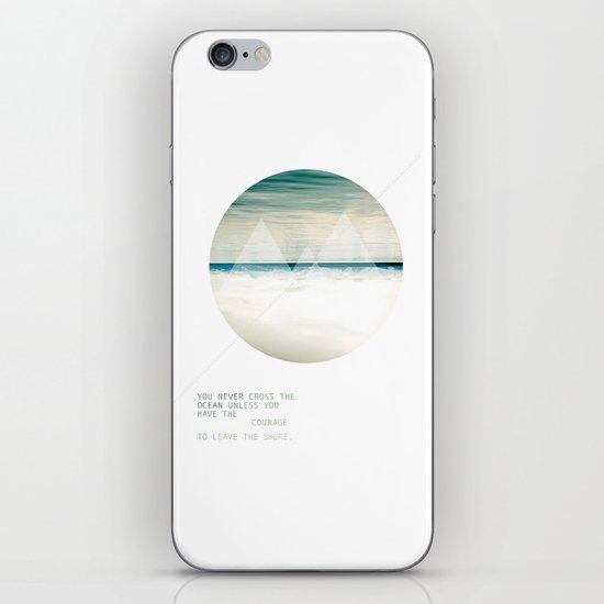 Leave the Shore iPhone & iPod Skin
