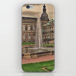 Zwingergarden Dresden iPhone Skin