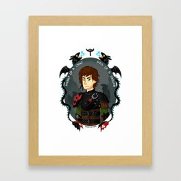 Hiccup Haddock III- Pride of Berk Framed Art Print