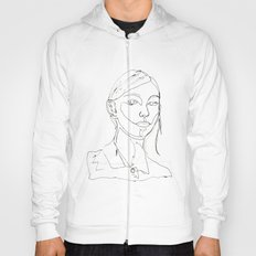 minimal drawing  Hoody