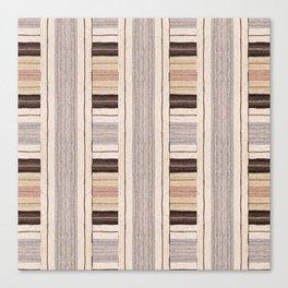 Flat Weavin 3 Canvas Print