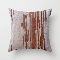 Alien Rust Throw Pillow