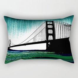 Blacken Gate-San Francisco Rectangular Pillow
