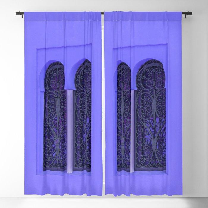 Oriental Windows Blackout Curtain