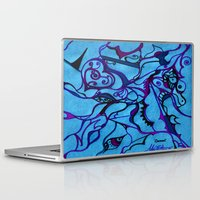 carousel Laptop & iPad Skins featuring Carousel by Art by Mel