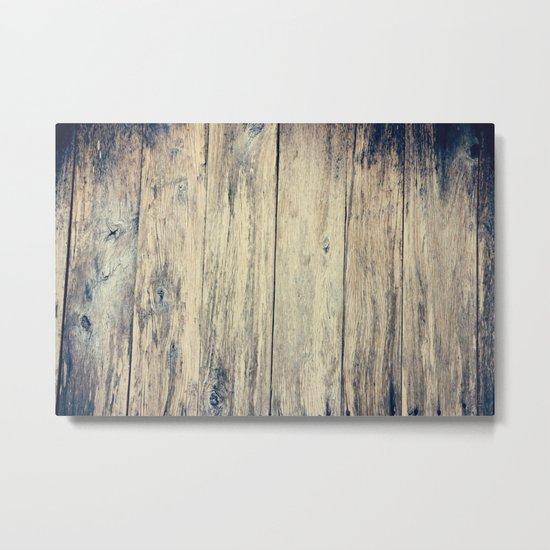 Wood Photography II Metal Print