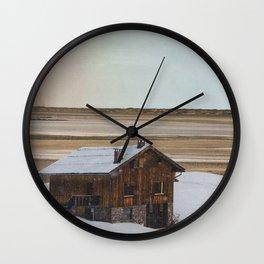 Snowed In Wall Clock