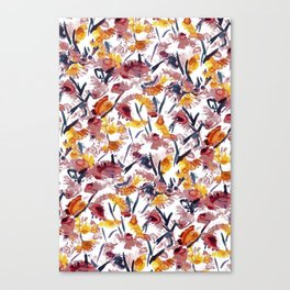 new floral Canvas Print