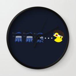Doctor Pacman Wall Clock