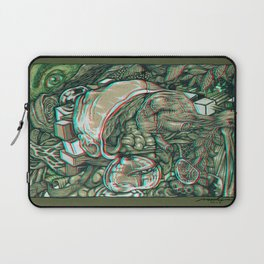 imaginations of mind 3D anaglyph Laptop Sleeve