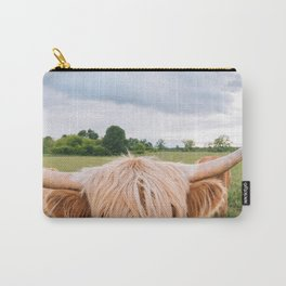 Highland Cow - Longhorns Carry-All Pouch
