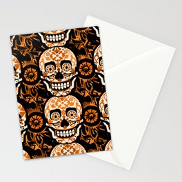Halloween Calaveras Stationery Cards