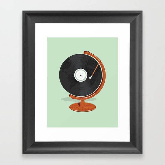 World Record Framed Art Print