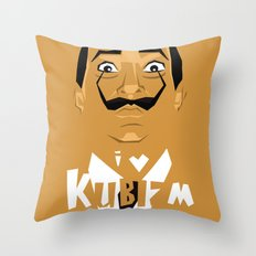 I Love Kubizm Throw Pillow