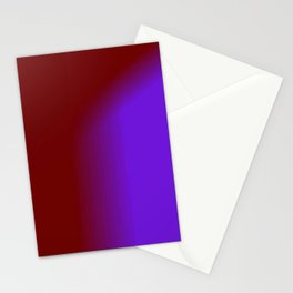 Ombre in Burgundy Purple Stationery Cards