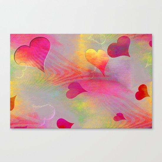Hearts 2016/001 Canvas Print
