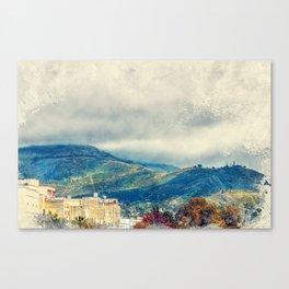 Trapani art 15 Sicily Canvas Print