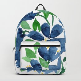 Modern Blue Backpack
