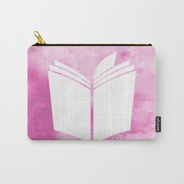 Watercolour Book (Pink) Carry-All Pouch