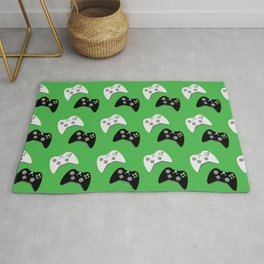 Video Game Controllers Rug