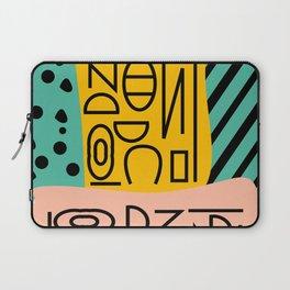 Strange alphabet Laptop Sleeve