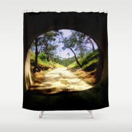 Cheviot Tunnel Shower Curtain