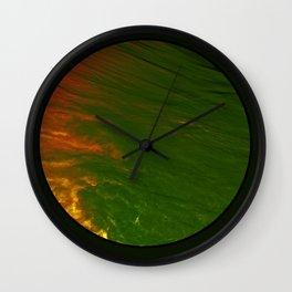 Ojo de mar Wall Clock