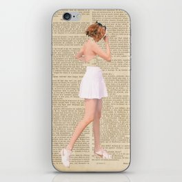 Mon Amour iPhone Skin